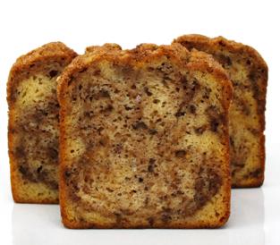 Sweet Sam's Cinnamon Walnut Pound Cake