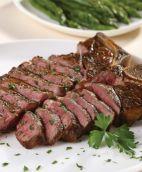 Whole dry aged steak
